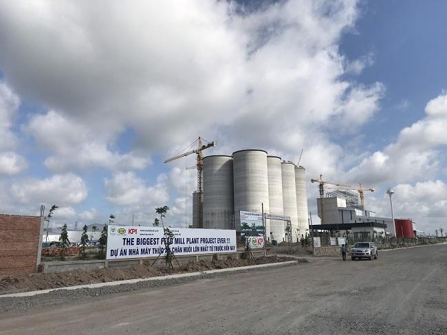 Dự án kết cấu thép – Nhà máy sản xuất thức ăn chăn nuôi CP Bình Phước