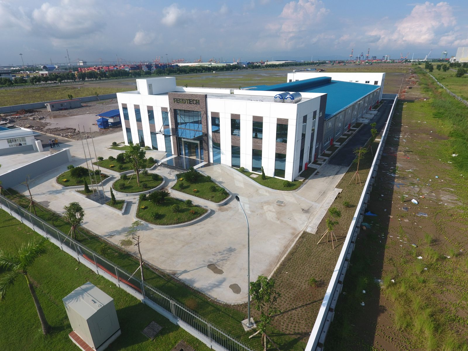 Factory project of Feedtech Vietnam Company Limited