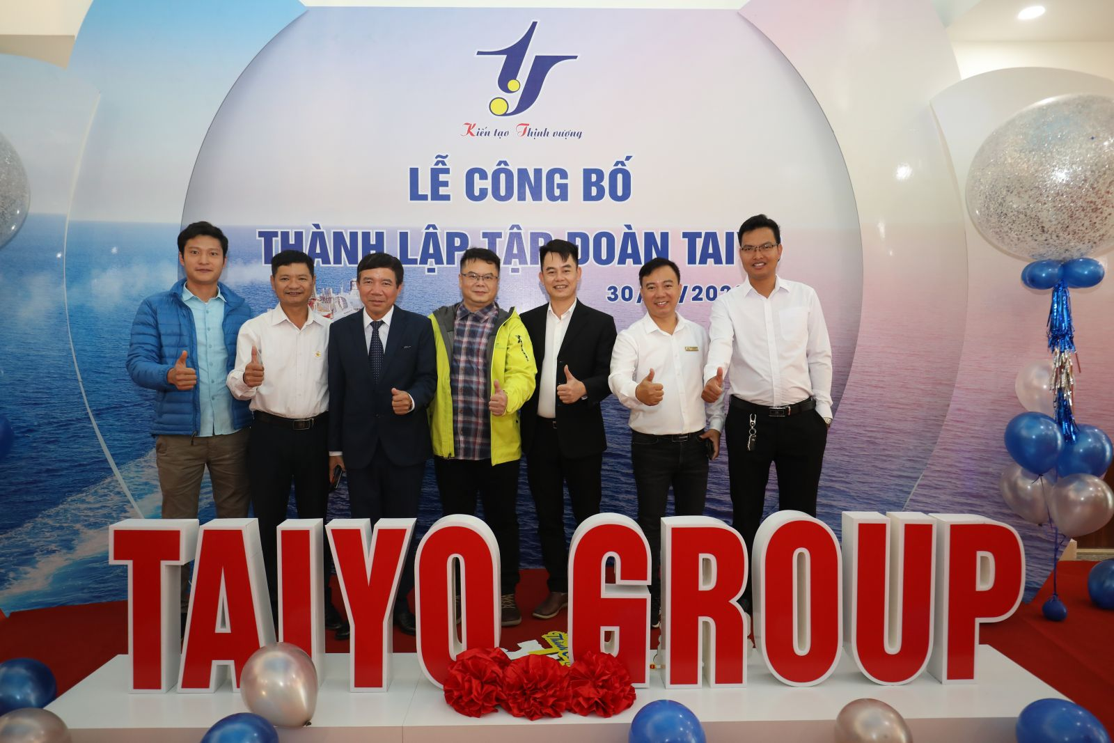 Preliminary conference for 10 months of production and business activities in 2020 of Hai Long Construction Joint Stock Company, announcing the inauguration of Taiyo Building and establishment of Taiyo Group