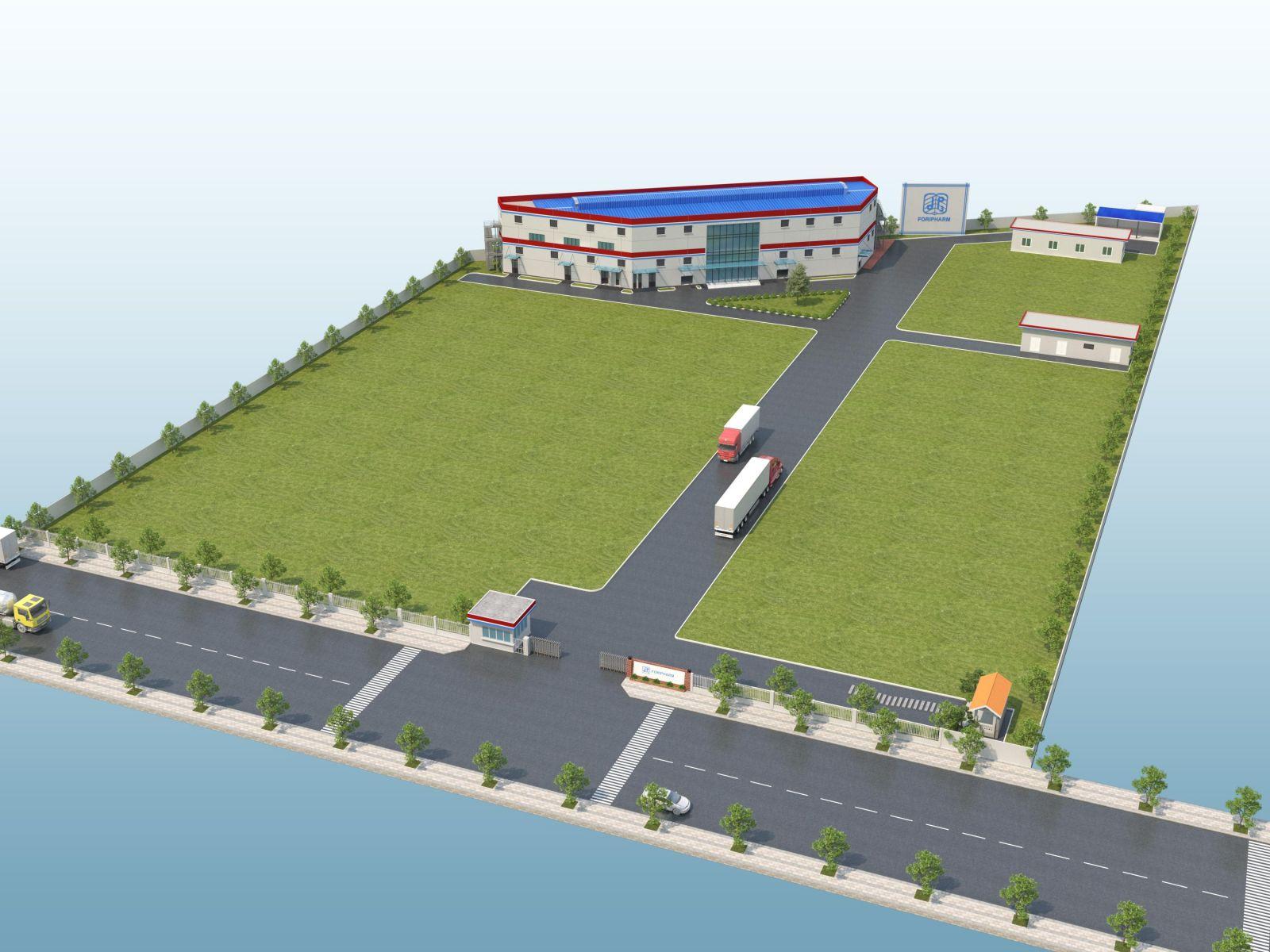 Dự án xây dựng nhà máy sản xuất dược phẩm trung ương 3