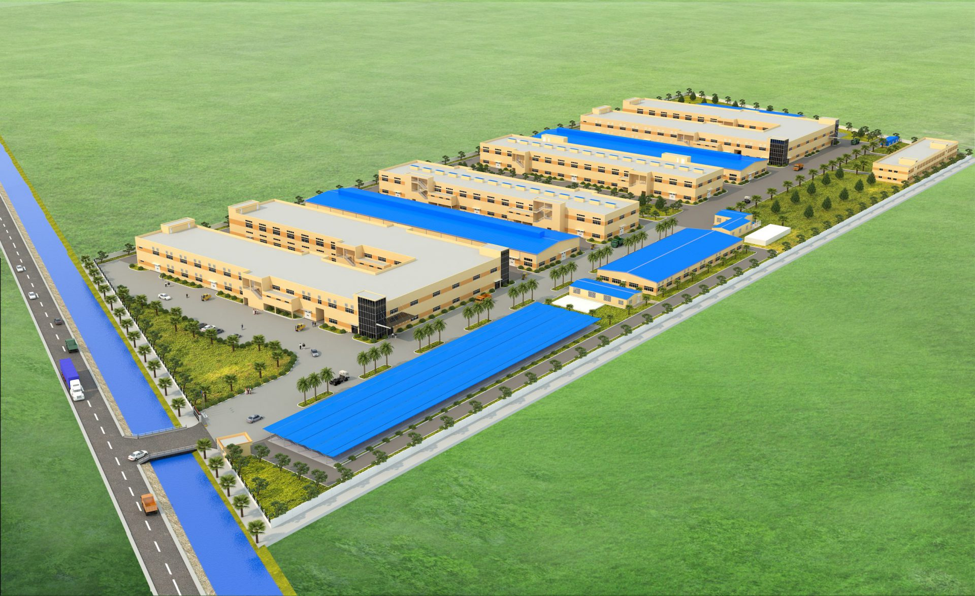 Dream Plastic Nam Dinh toy factory project
