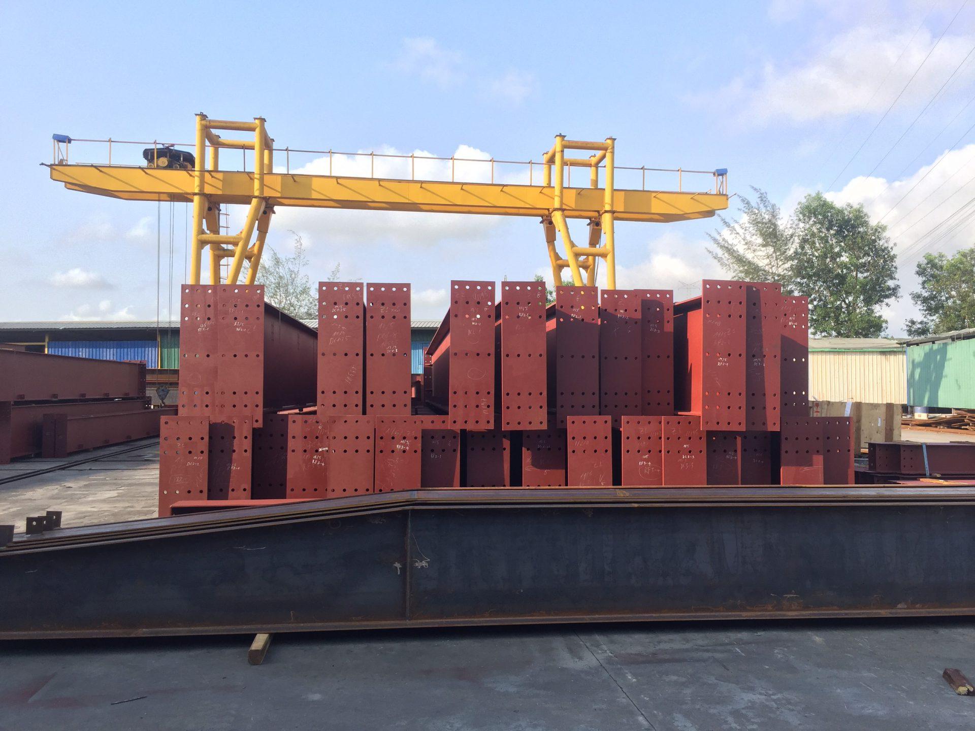 Cập nhật tiến độ dự án xây dựng nhà xưởng M08 Lô F&M Quang Châu