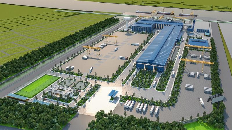 越南钢铁厂项目
