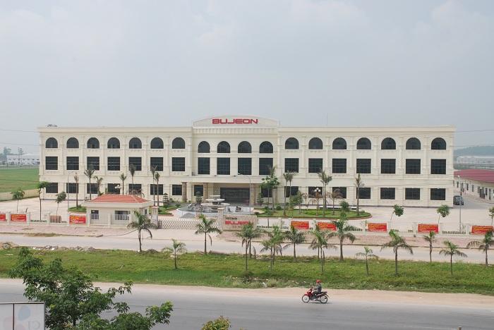Dự án nhà máy Bujeon  Bắc Ninh