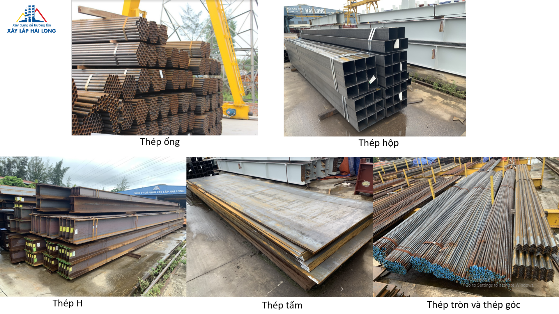 Input materials for steel structure production