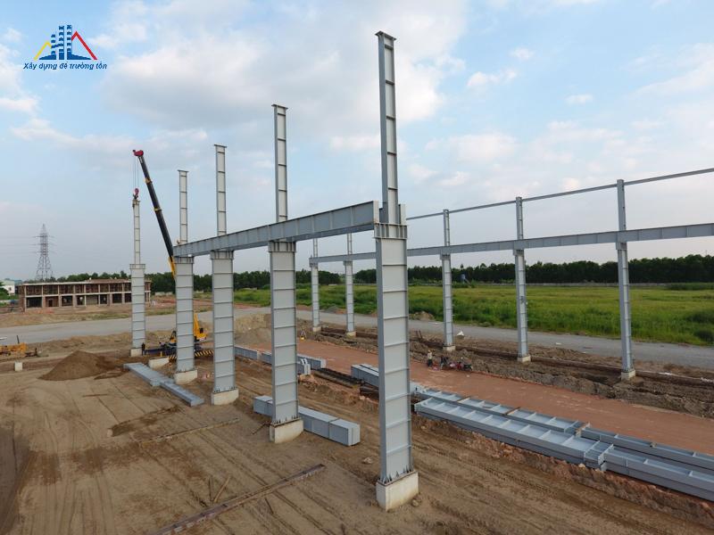 Nhà thép tiền chế dự án thép Việt Nhật