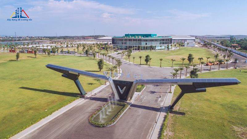 Prefabricated steel house vinfast automobile factory