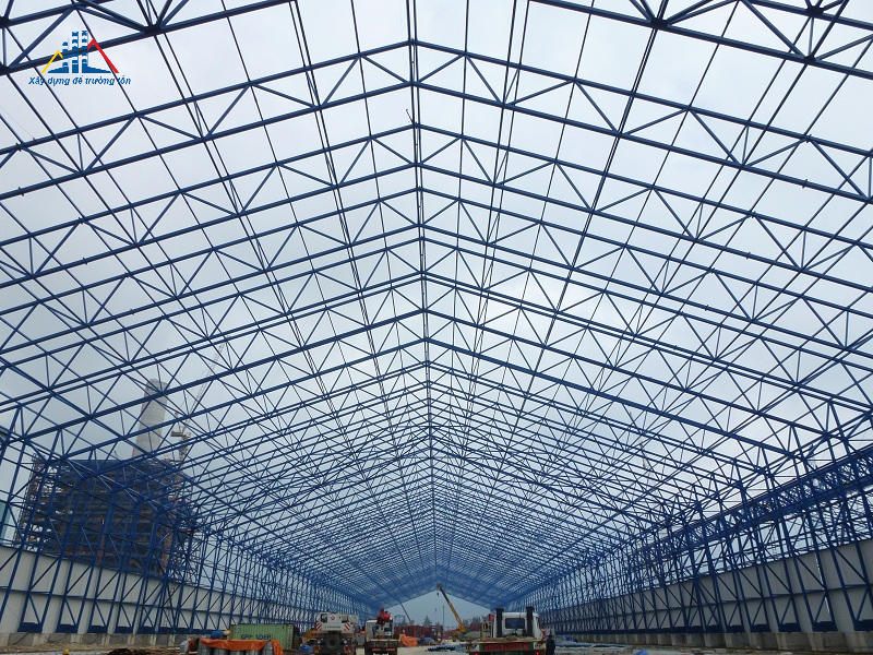 Pre-engineered steel building of Vung Ang Thermal Power Project 1