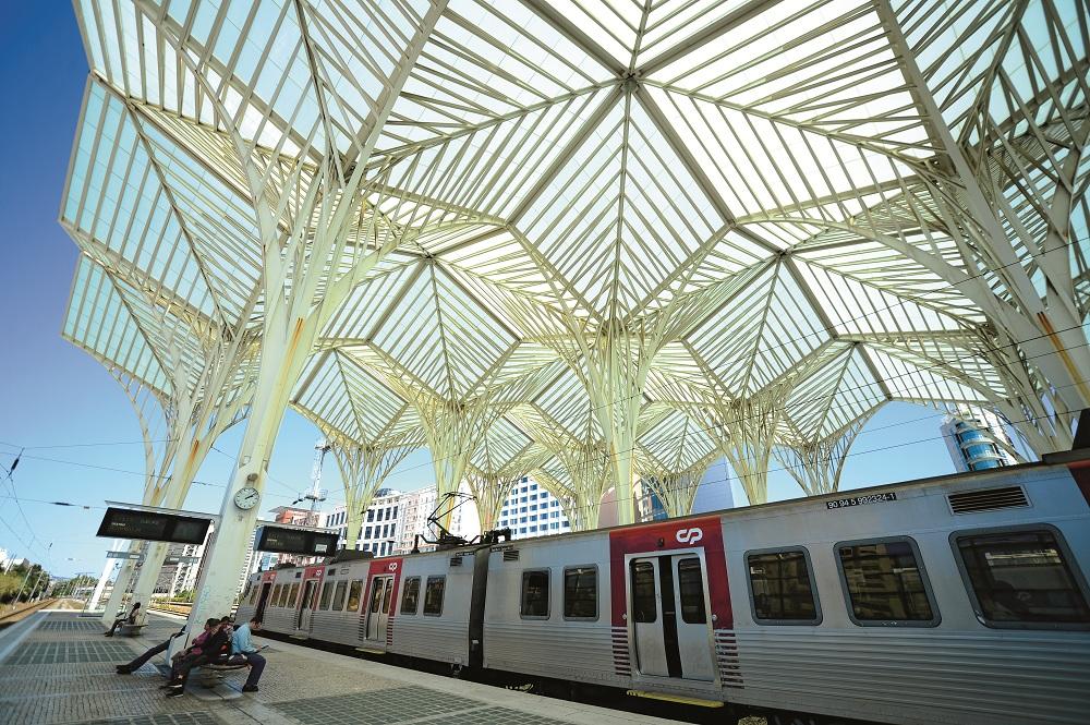 Nhà ga tàu hỏa Oriente, thành phố Lisbon, Bồ Đào Nha