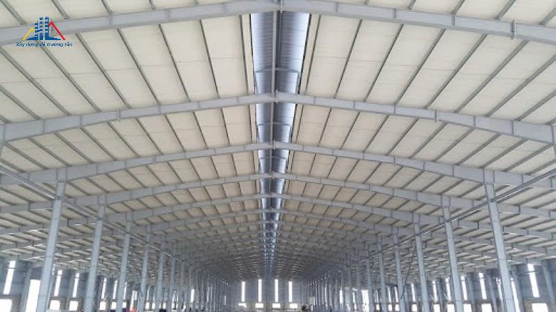 Nhà thép tiền chế sản xuất nến Aidi Việt Nam
