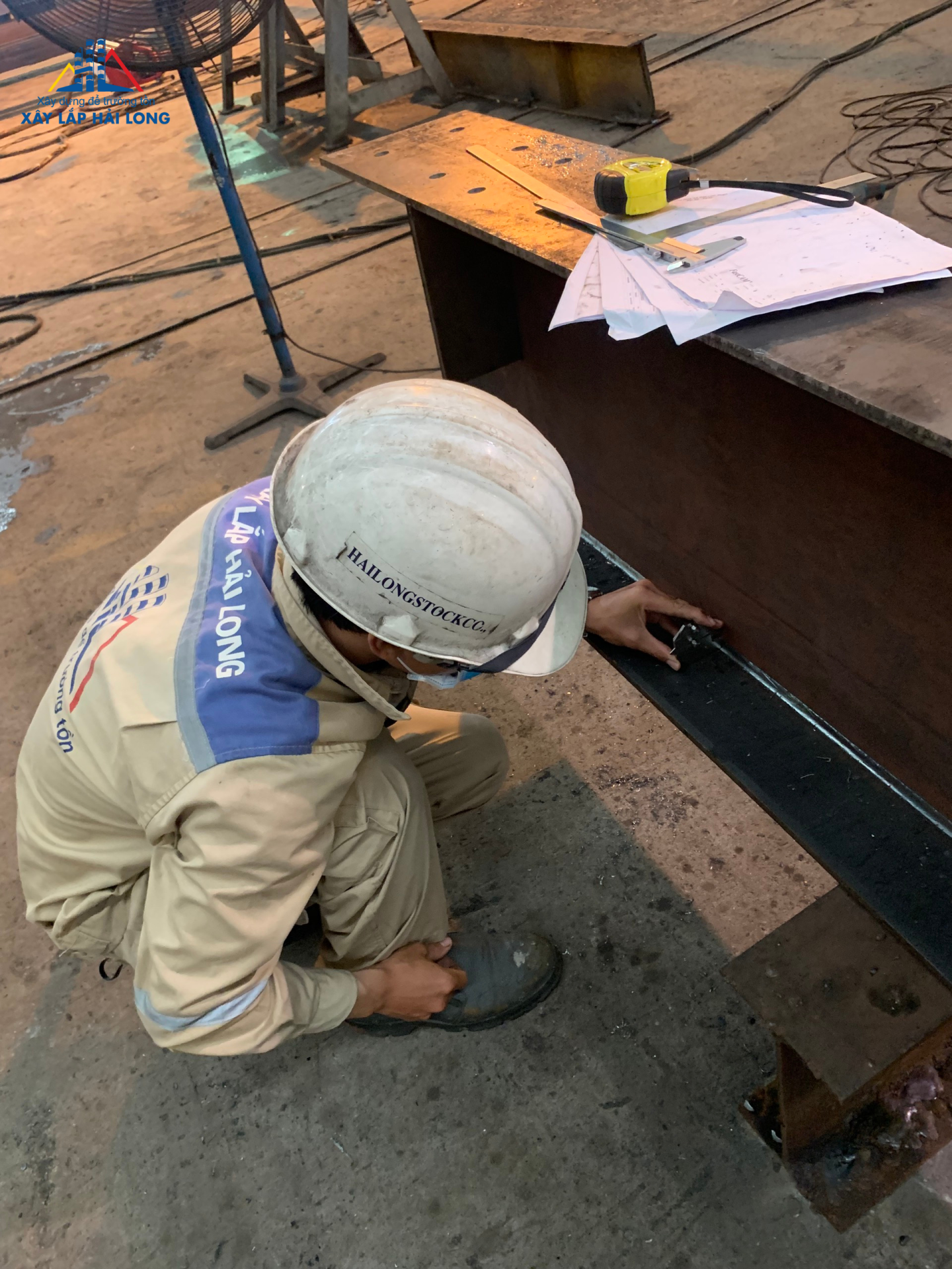 Finishing inspection, welding: 100% according to the specified batch.