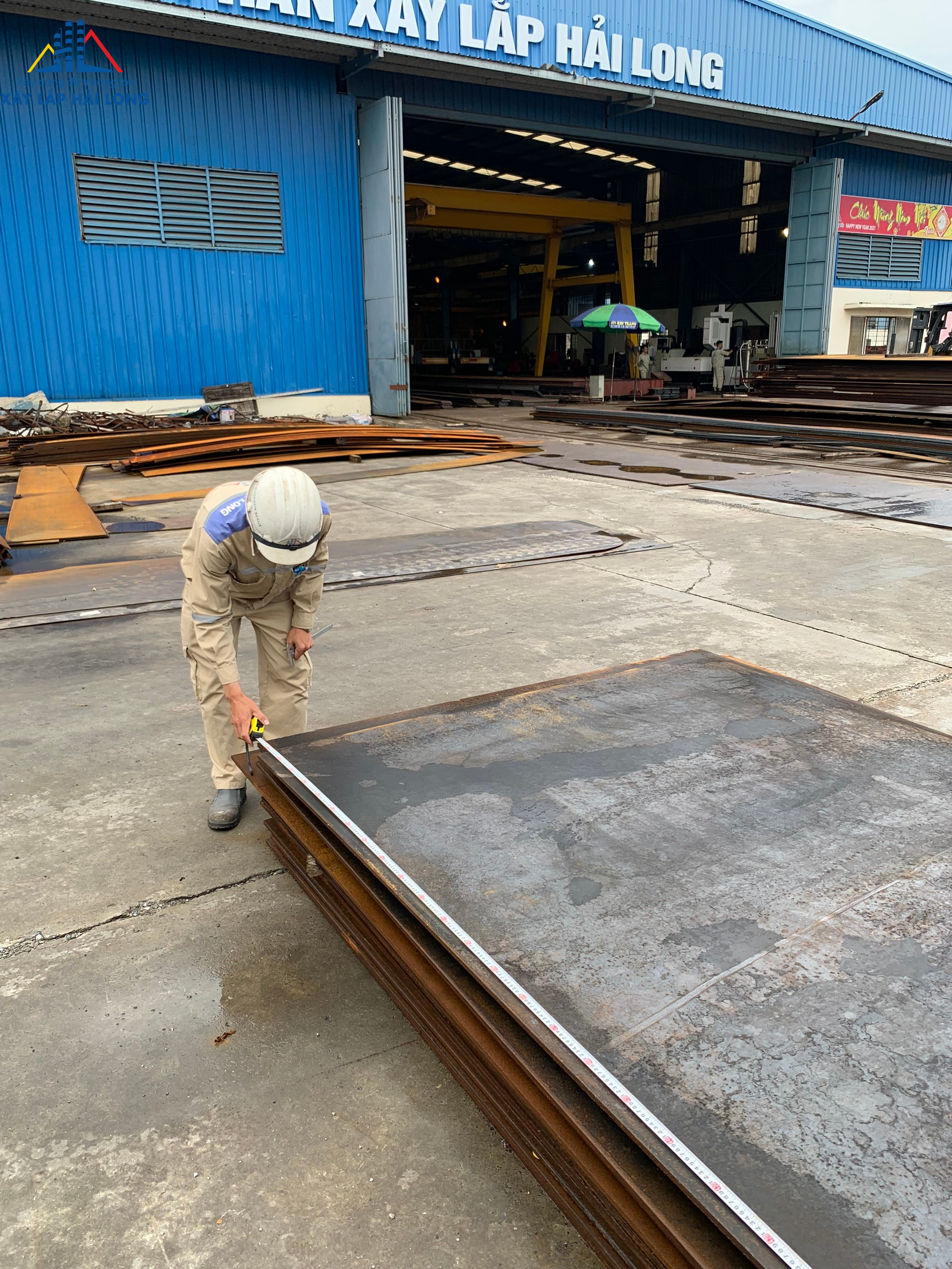 Check the quality of input steel structure products