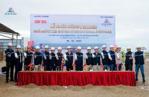 SIrtec International 베트남 공장 기공식