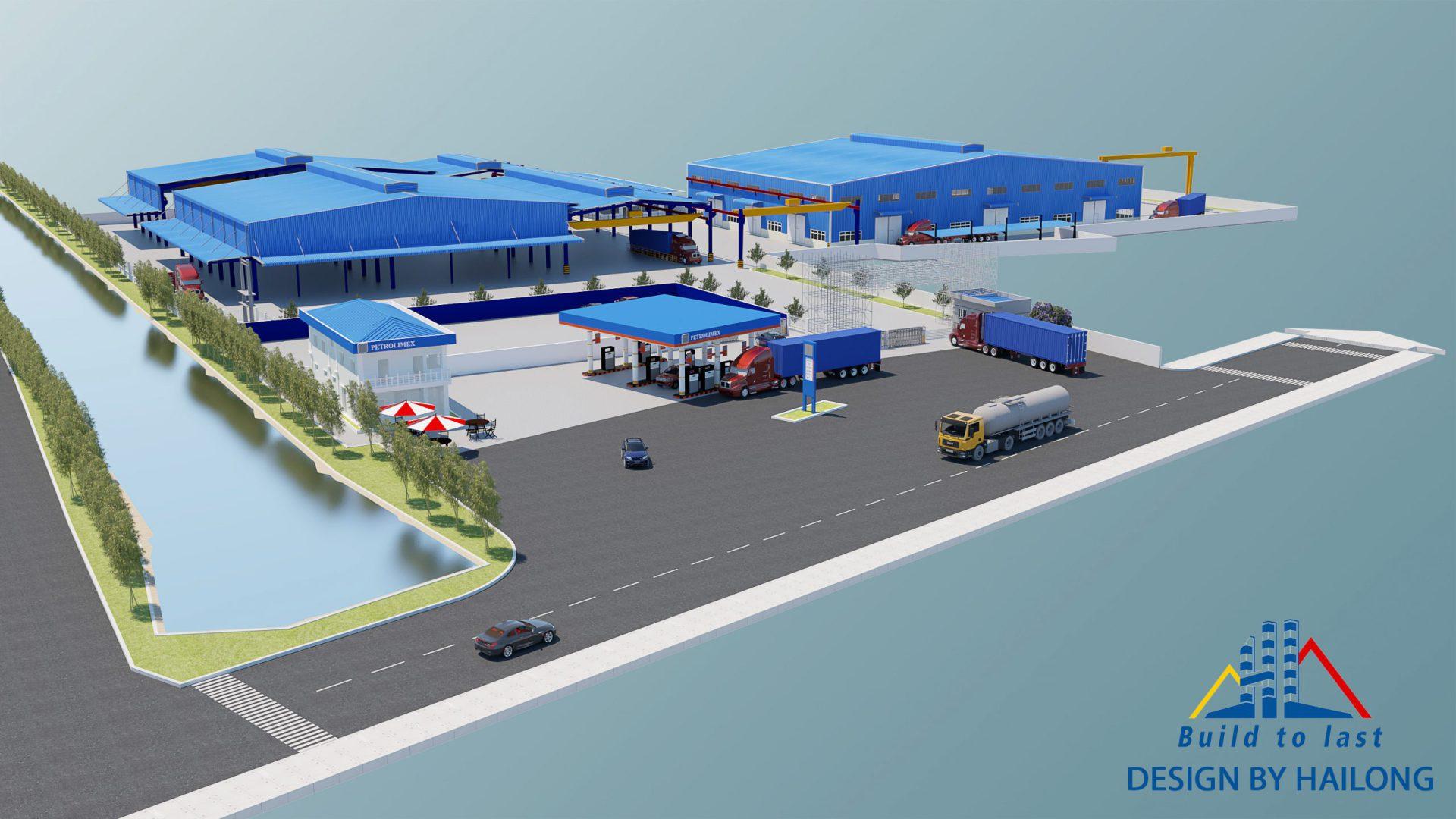 Hình ảnh lễ khởi công Nhà máy Kết cấu thép Hải Long 2