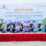 Groundbreaking ceremony of Hai Long Steel Structure Factory No. 2